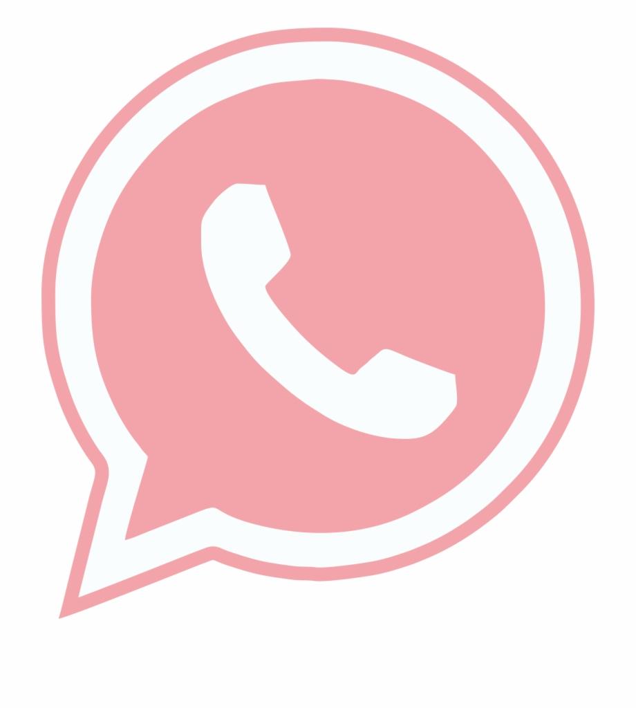 Logo Whatsapp Rosa Png.