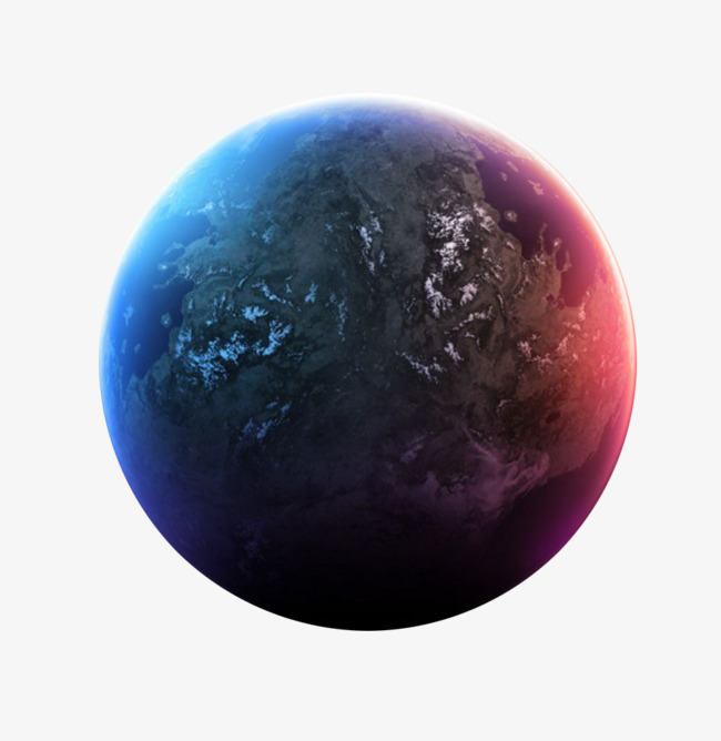 Planet Hand Painting, Planet Clipart, Bl #44038.