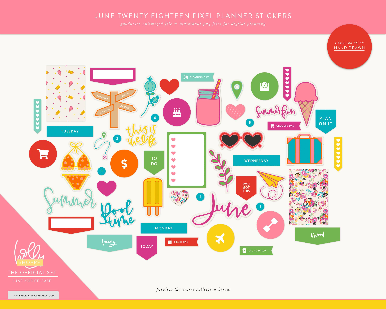Digital Planner Stickers.