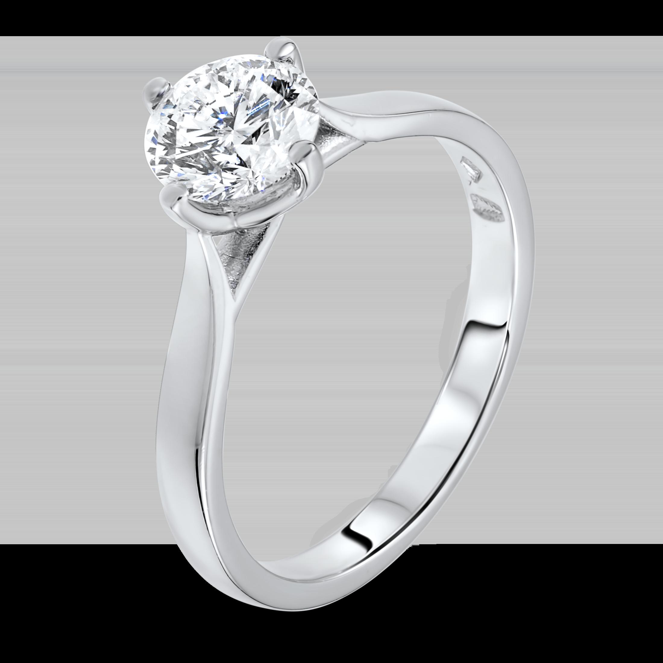 1.03 carat diamond ring.