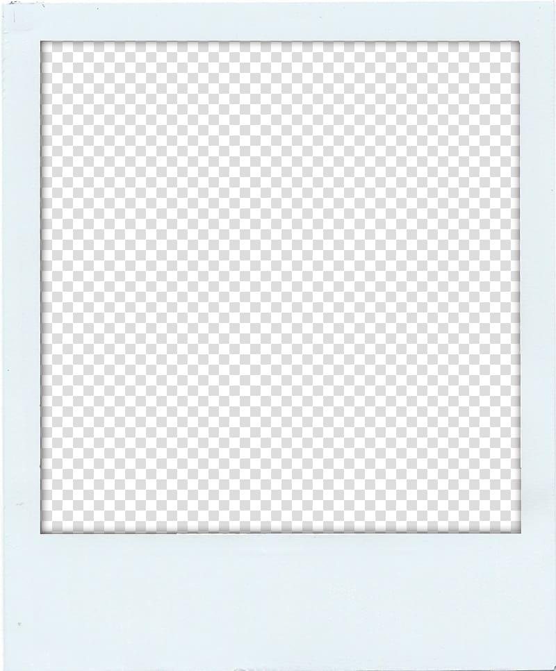 Rectangle Square Area Frames, polaroid transparent.