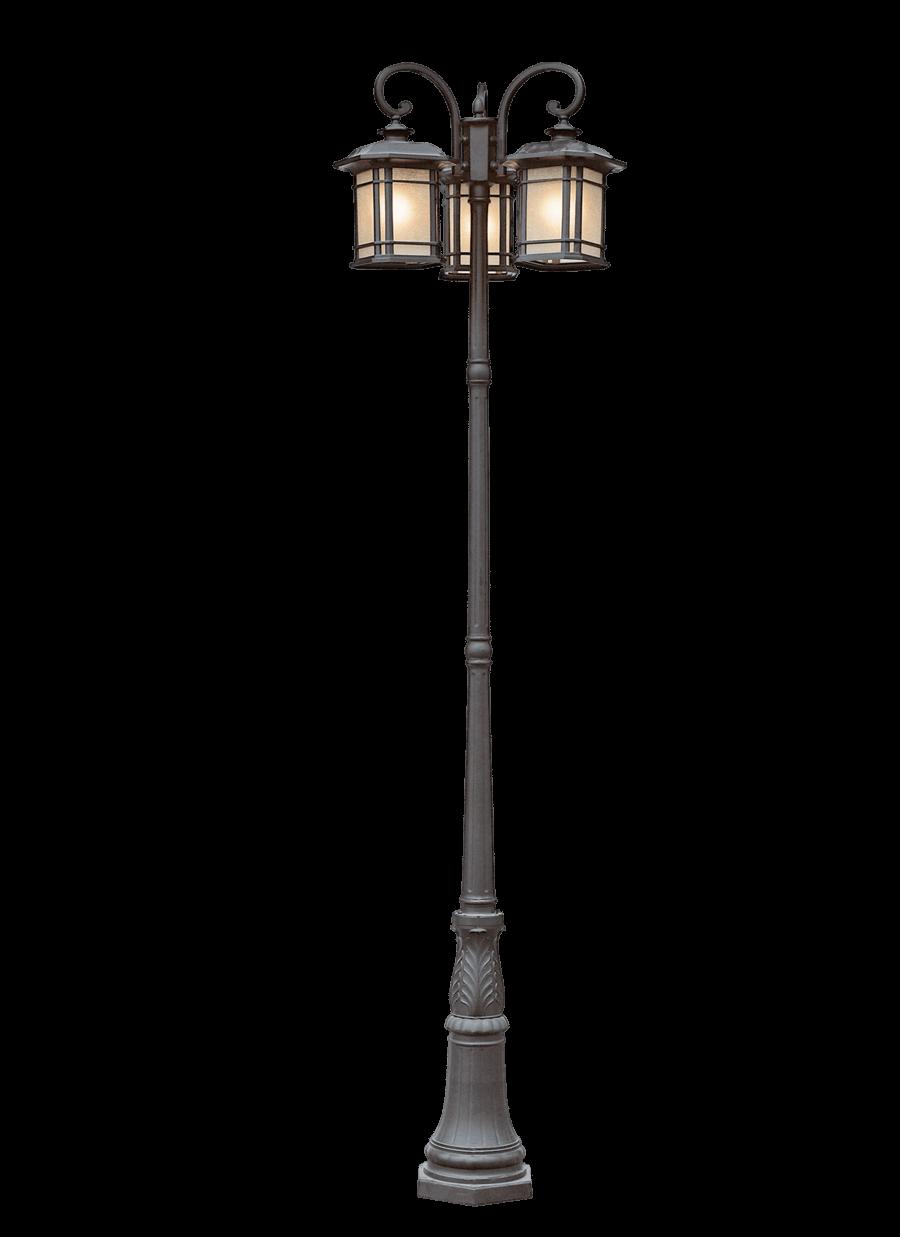 Lantern Pole transparent PNG.