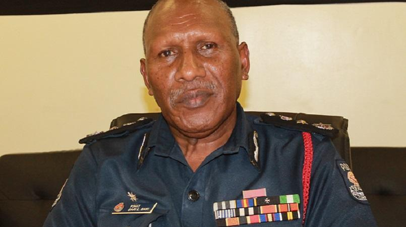 Police Commissioner Baki launches revised police recruit.
