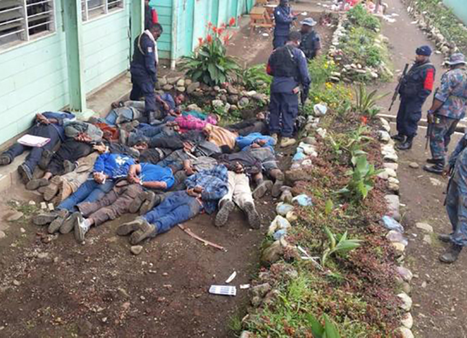 Constable Jimmy dies in PNG elections ambush.