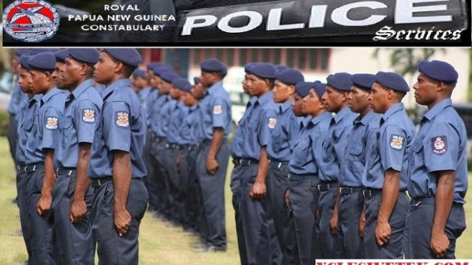 Apply Online: PNG Police Recruitment 2018/2019 Application form.