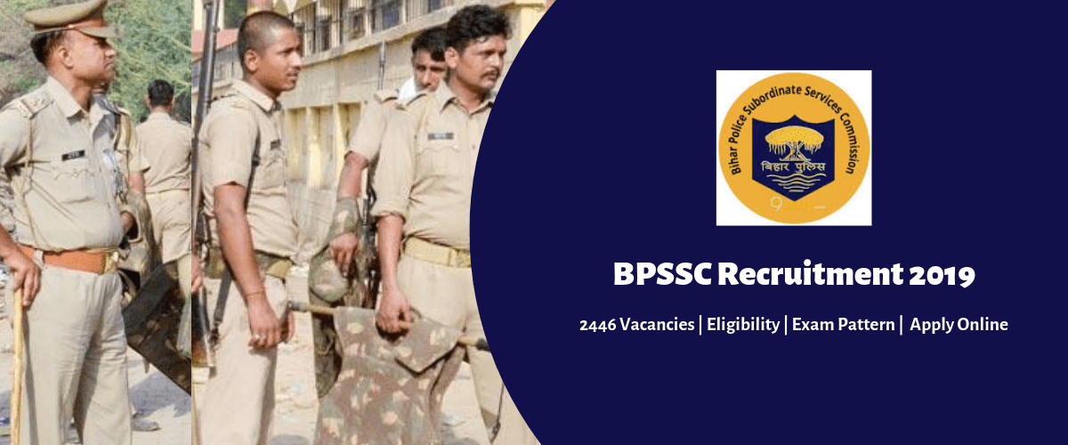 Bihar Police Recruitment 2019: Apply online for 2446.