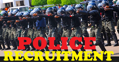 Police Recruitment 2018. Apply 8060 Jobs vacancies 2018 April.