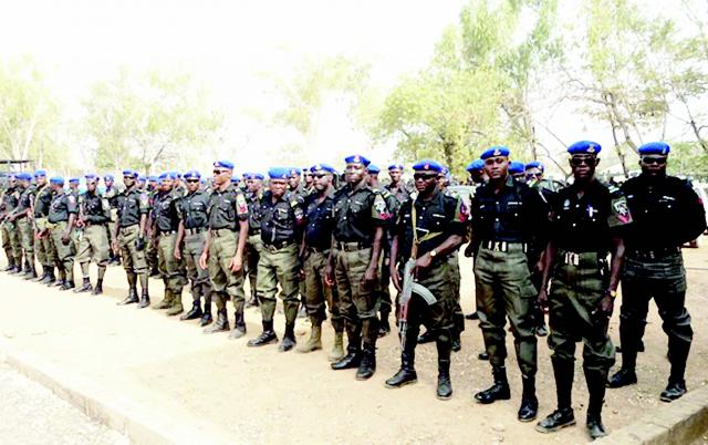 Police recruitment: 1,113 begin screening in Lagos.