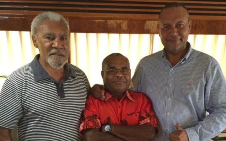 New PNG political coalition emerging.