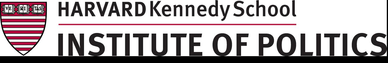 The John F. Kennedy Jr. Forum.