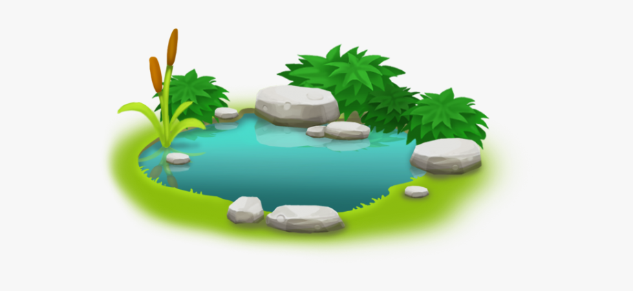 Lake Clipart Lily Pad Pond.