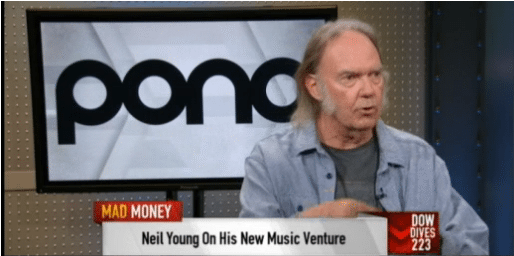 Neil Young Talks Pono, Crowdfunding & Music with Jim Cramer.