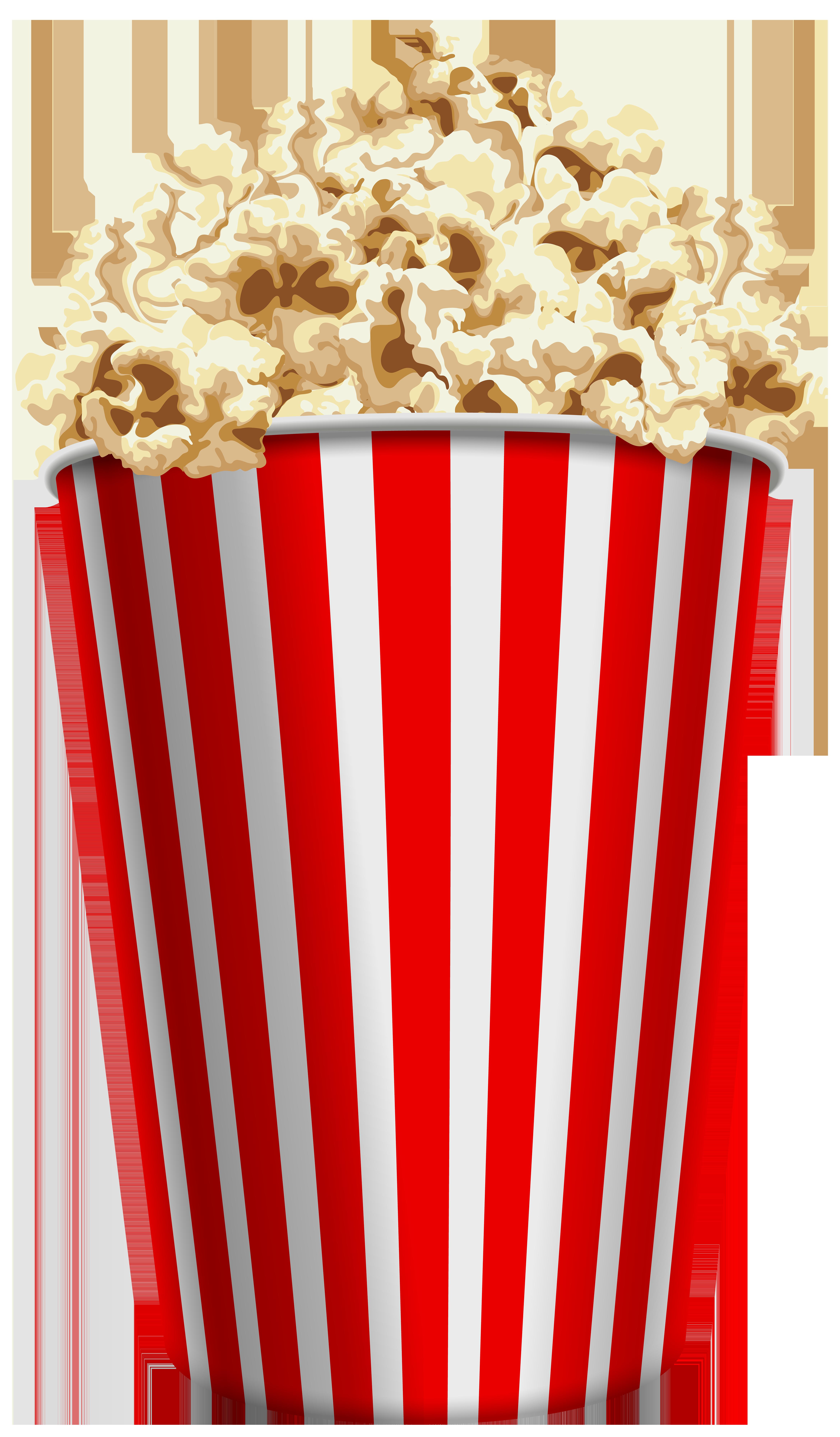 Popcorn PNG Clip Art.