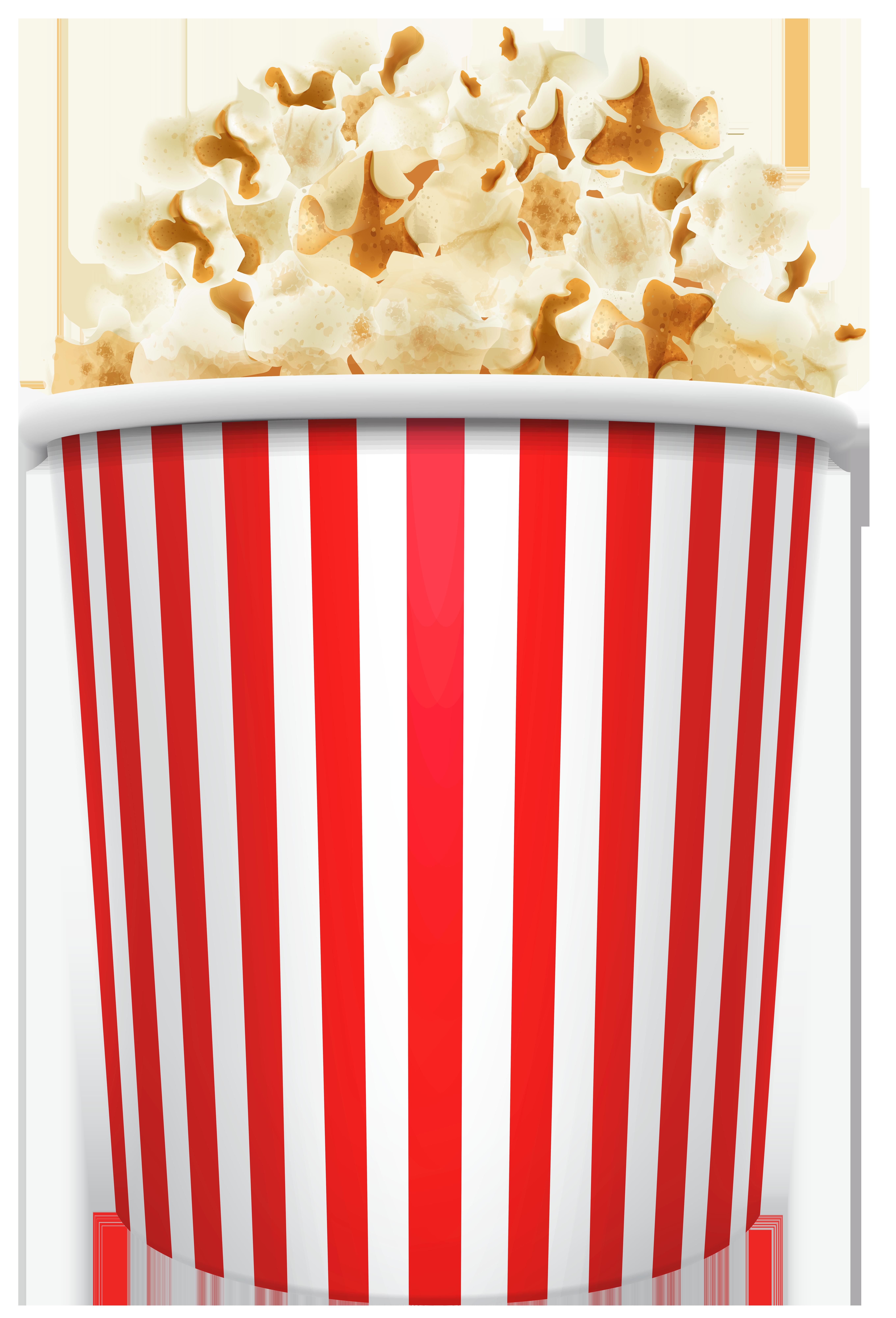 Popcorn Box PNG Clip Art.