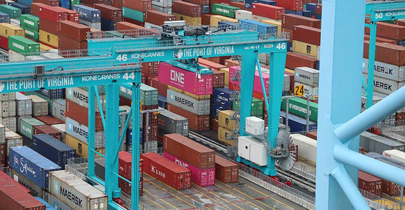 Ocean Ports Lead the Way in Logistics Technology.