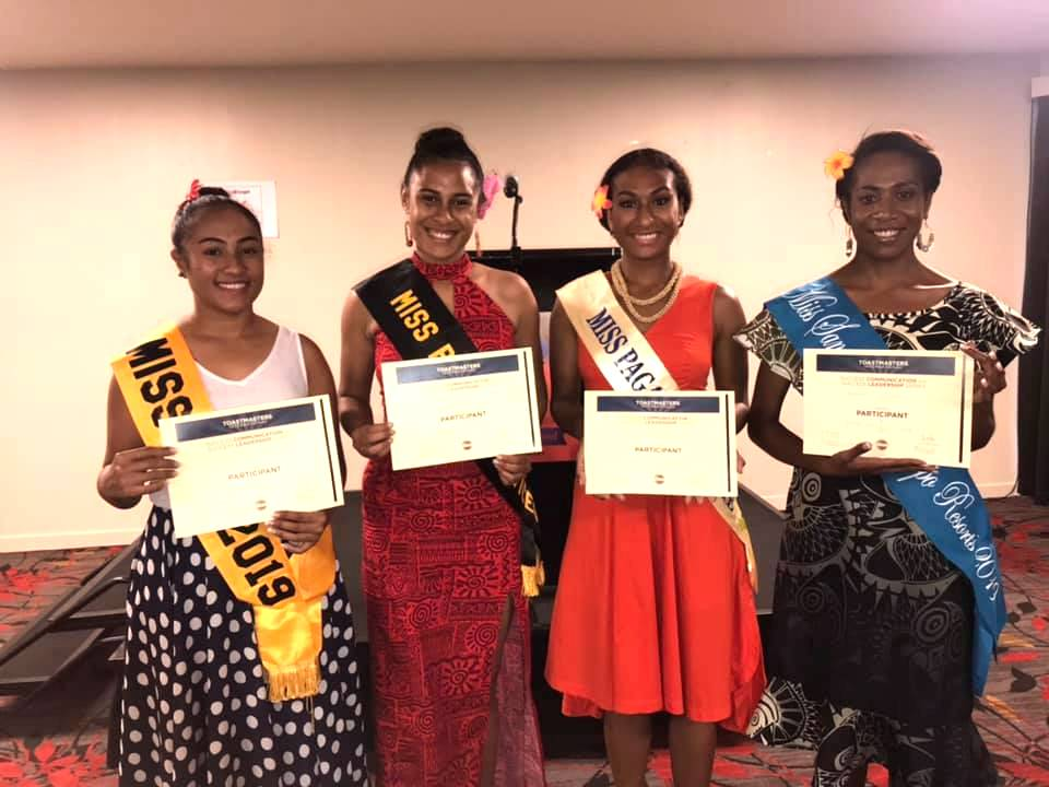 MISS PNG CONTESTANTS GRADUATE WITH FLYING COLOURS FROM.