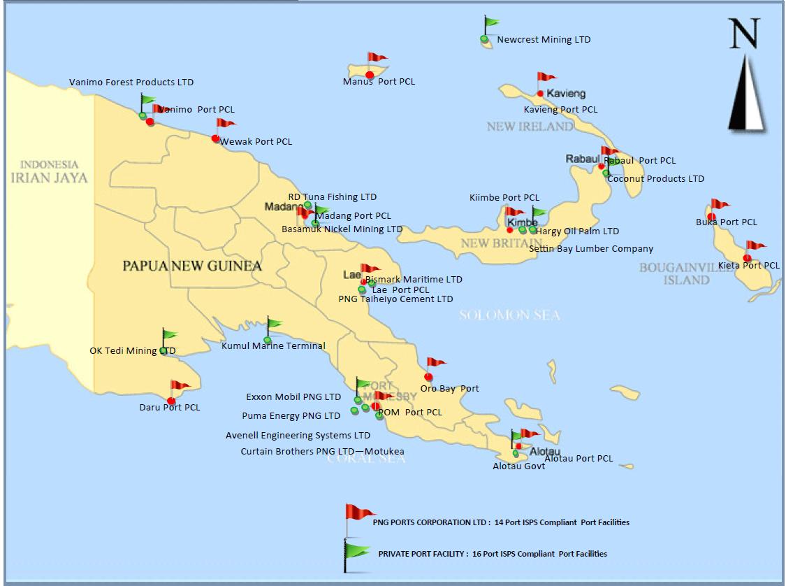 ISPS Compliant Port Facilities.