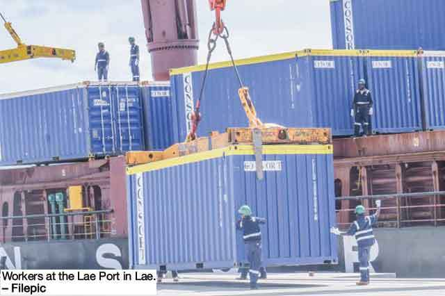 PNG Ports expects productivity to improve.