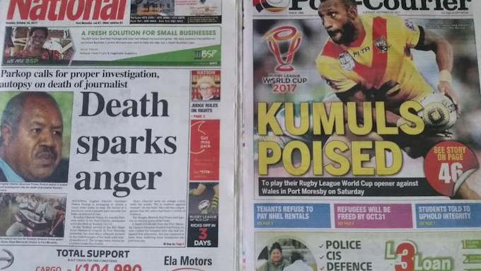 PNG journalist death sparks anger over violence against.