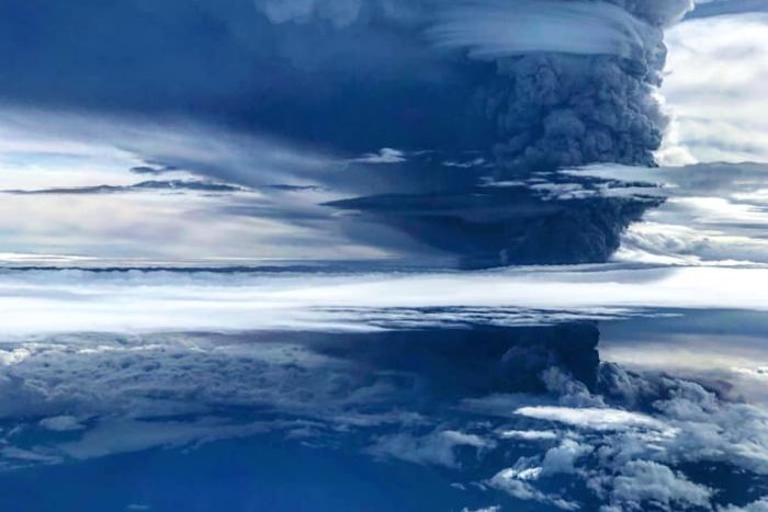 Papua New Guinea\'s Mount Ulawun volcano erupts and sends.