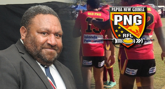 PNG UNDER 16 RL TEAM NAMED.