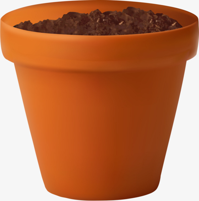 Soil In A Pot PNG Transparent Soil In A Pot.PNG Images.