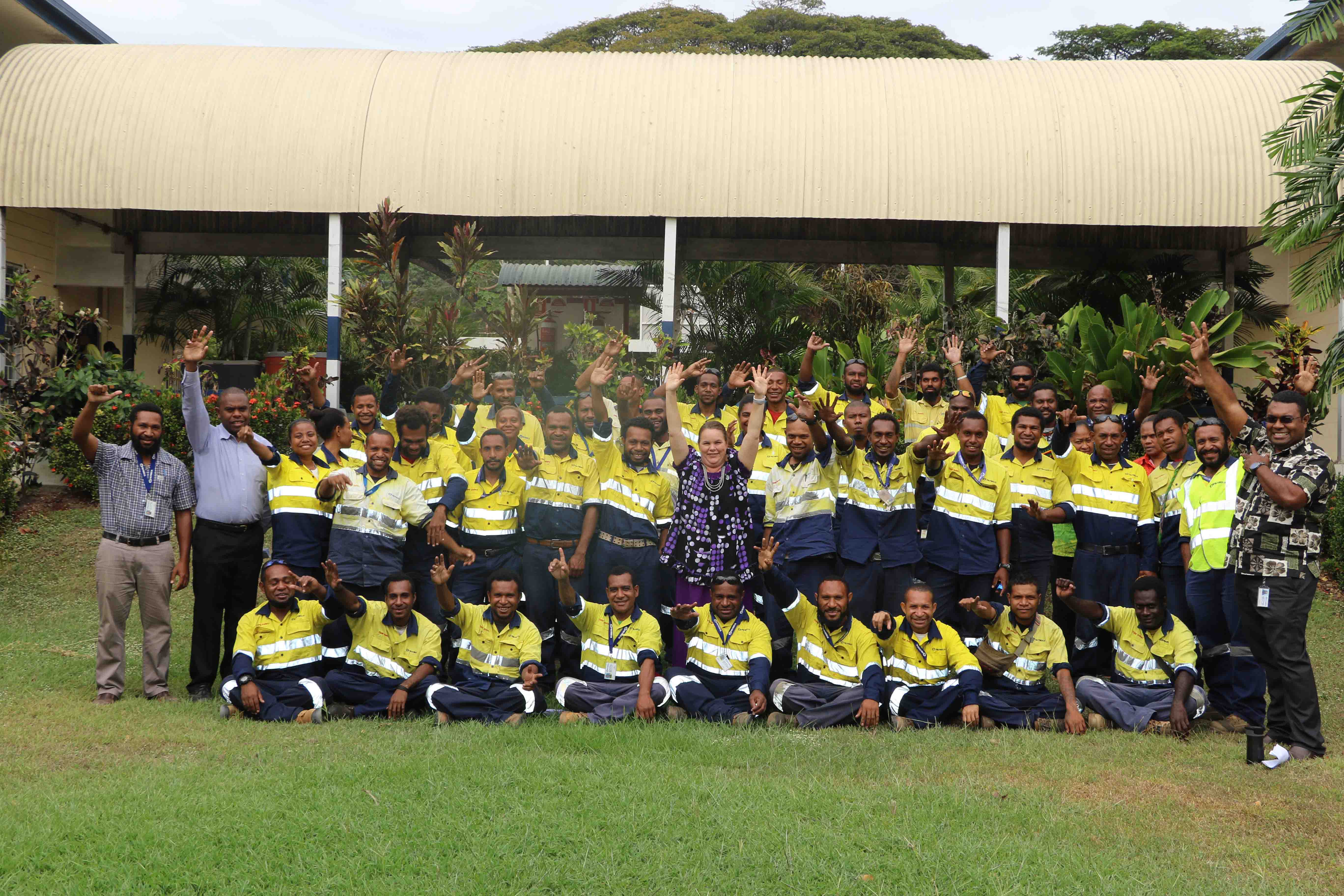 News > PNG Power training college accredited to conduct.