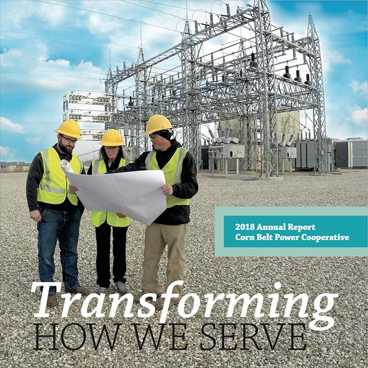 Corn Belt Power Cooperative: Annual Reports.