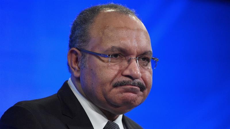 Papua New Guinea prime minister, Peter O\'Neill, resigns.