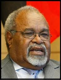 Hon. Michael Somare, MP.