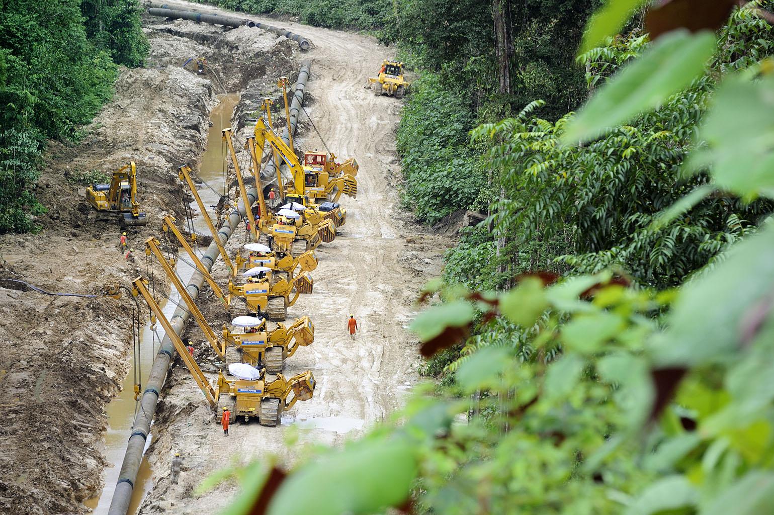 PNG LNG, LOT EPC5A Project, Papua New Guinea.