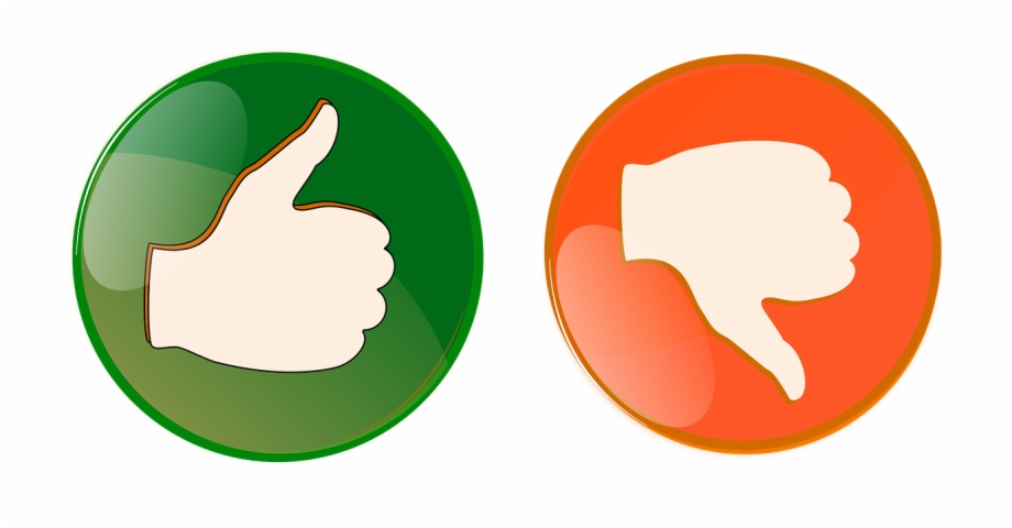 Right Wrong Button Thumbs Up Png Image.