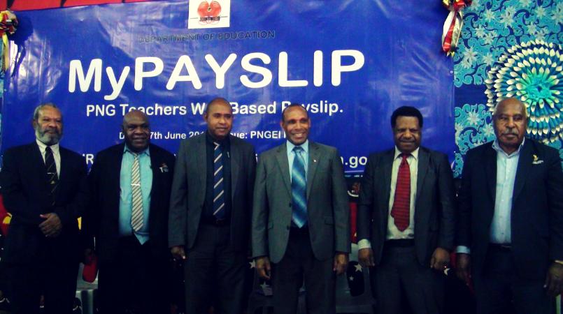 Teachers to access payslips online.
