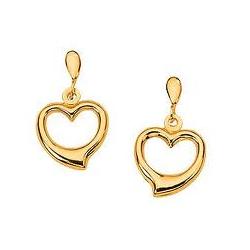 Gold Earrings, सोने की बालियां.