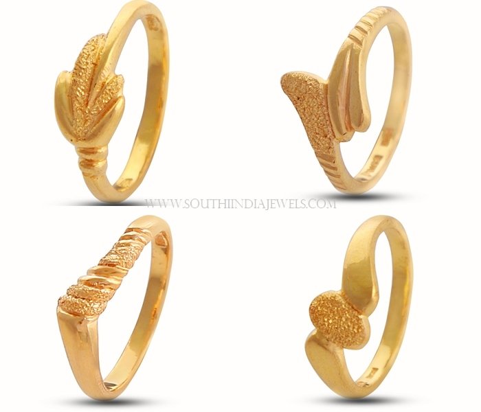 Gold Ring Designs for Female ~ South India Jewels.