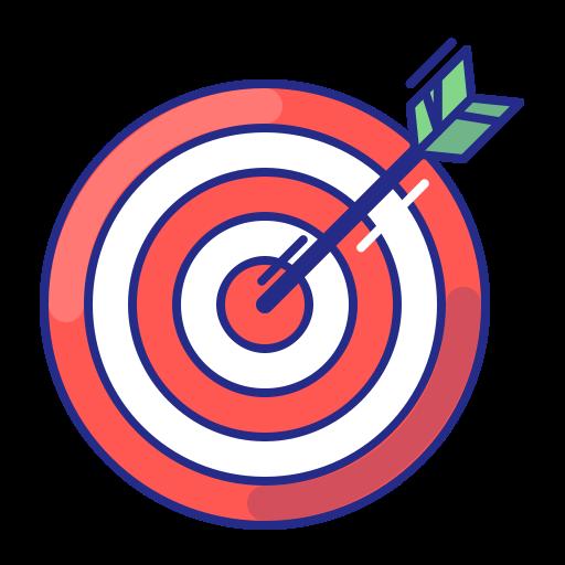 Download Free png Aim, arrow, bullseye, purpose, strategy.