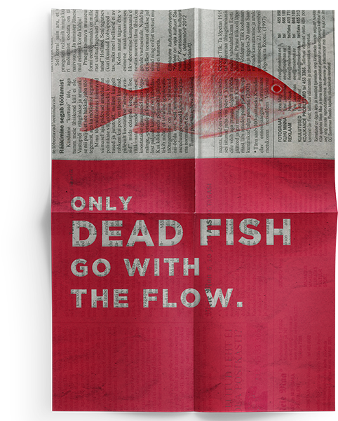 Download Fish Photoshop Quotes Fish Poster.