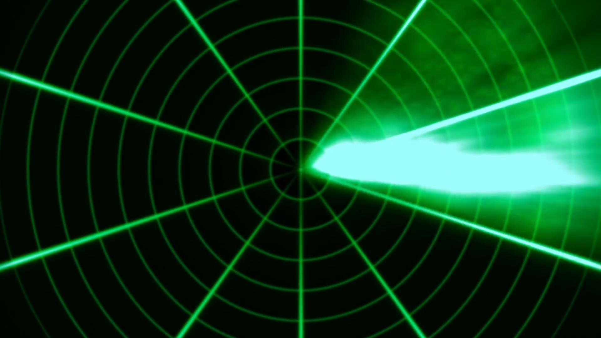 Radar Animated Loop 2 Motion Background.