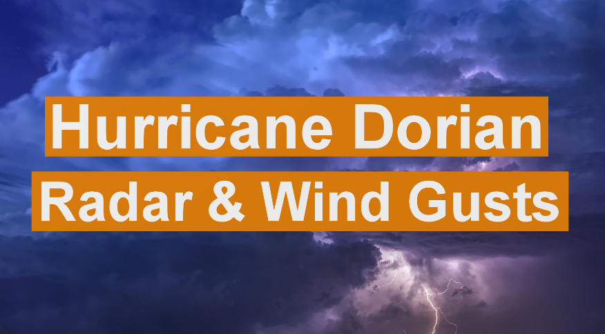 Hurricane Dorian Radar Loop.