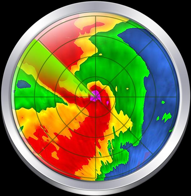 HD Noaa Doppler Radar Loop & 7.