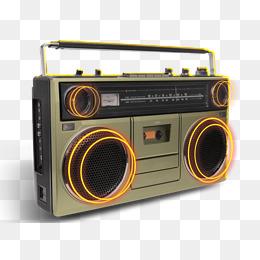 Retro Radio, Retro, Radio, Antique PNG I #18214.