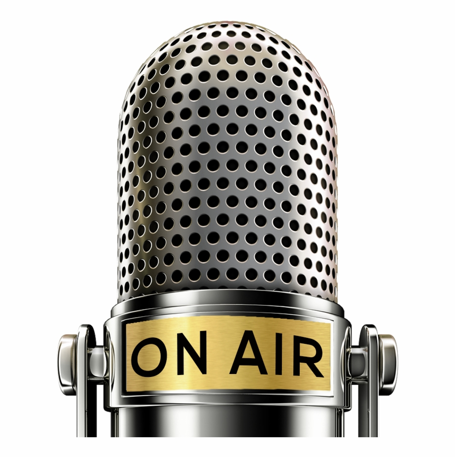 Free Radio Station Microphone Png.