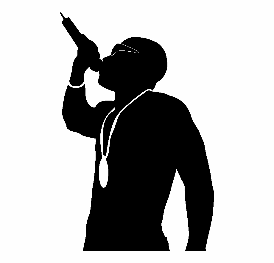 Rapper Music Rap Silhouette Png Image Picpng.