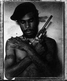 Raskols: Stephen Dupont\'s Portraits of Papua New Guinea.