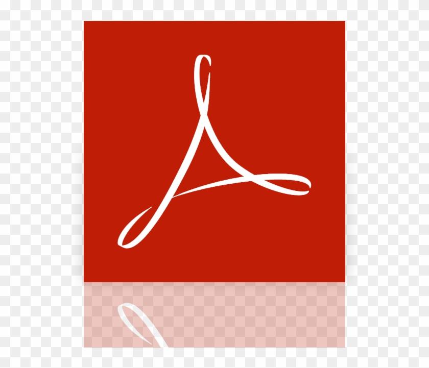 Acrobat, Adobe, Mirror, Reader Icon.