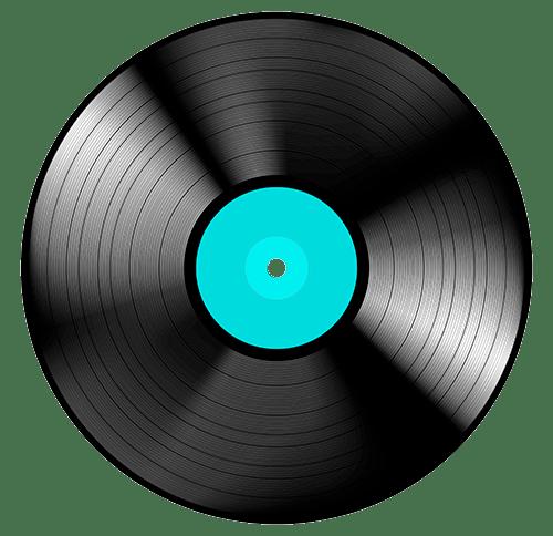 Vinyl Record transparent PNG.