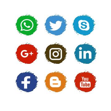 Redes Sociales Png, Vectores, PSD, e Clipart Para Descarga.