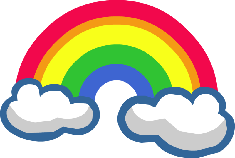 Png gökkuşağı resimleri, png süsler, png rainbow download.
