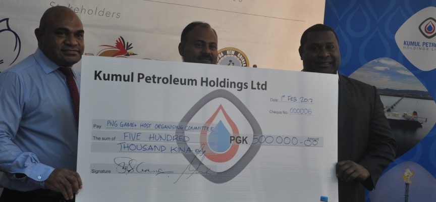 Kumul Petroleum Holdings takes up gold sponsorship of PNG.