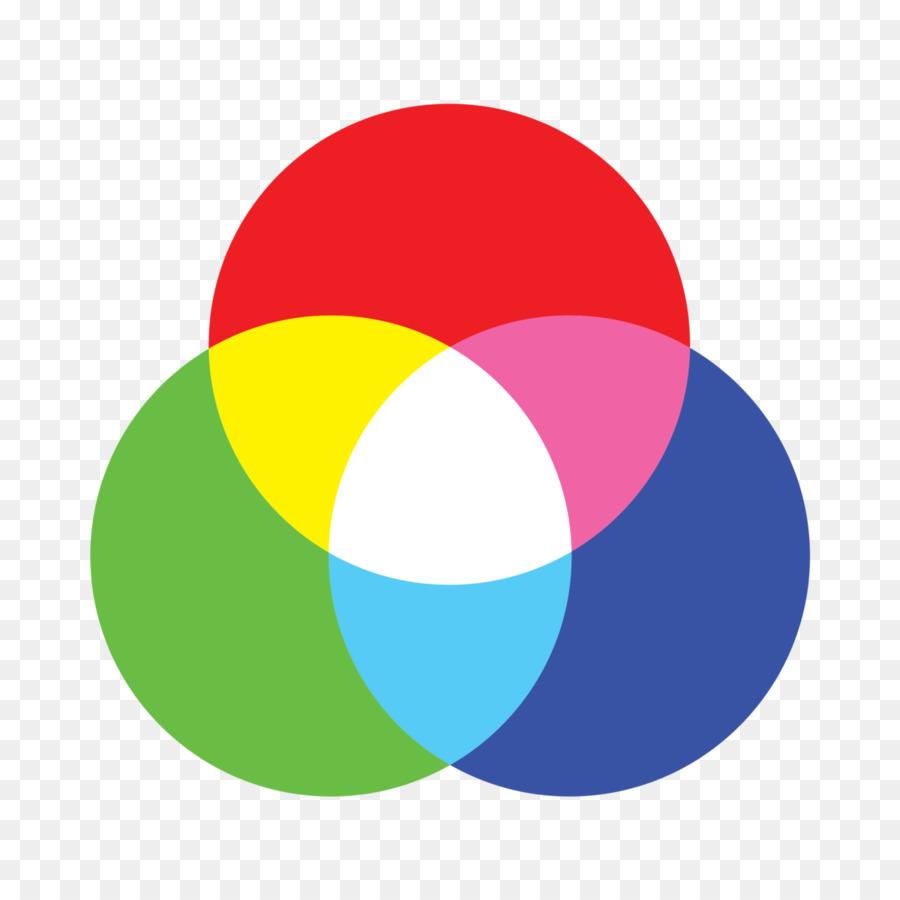 Color Model Circle png download.